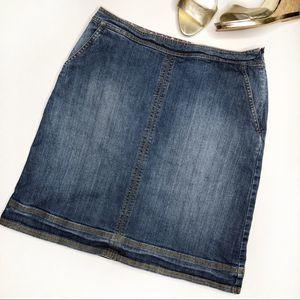 BODEN Denim Skirt